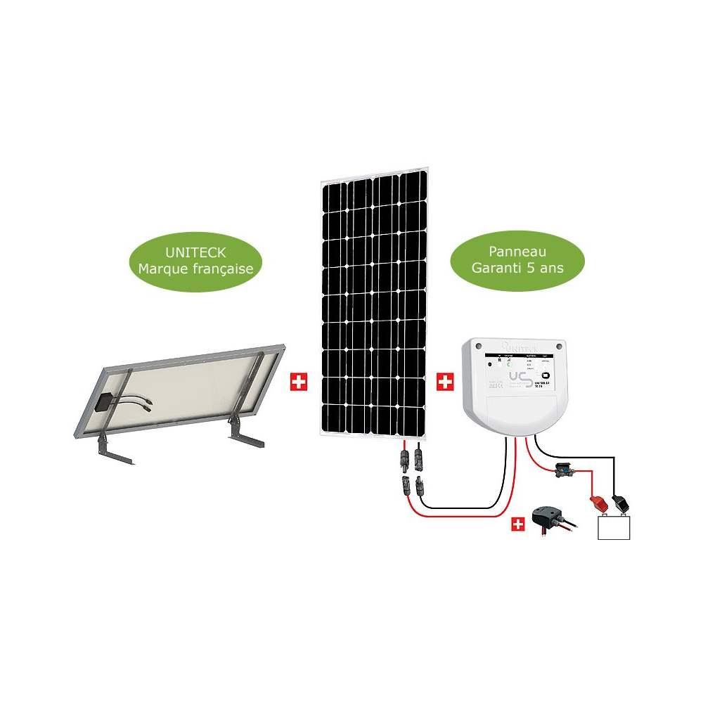 kit solaire site isol 100 w 1 panneau photovolta que. Black Bedroom Furniture Sets. Home Design Ideas