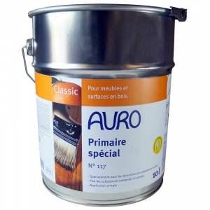 Primaire spécial - bois riches en substances actives - intérieur & extérieur - transparente - Marque Auro N° 117 (0,375 litre)