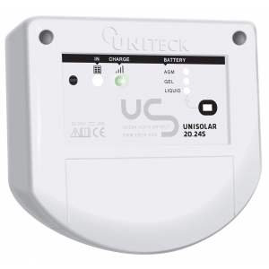 REGULATEUR DE CHARGE SOLAIRE PWM - 12/24V - 10A - UNISOLAR 10.24