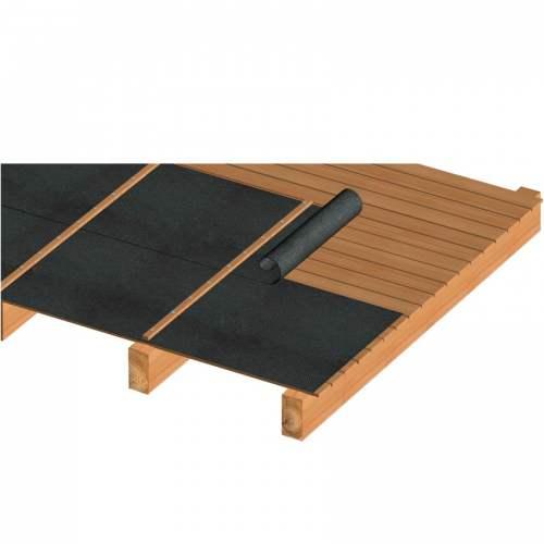 Ecran d'étanchéité de sous-toiture - une bande adhésive - 145 g / m² - triple couche non tissée - Marque Isocell - Modèle Omega Light Plus