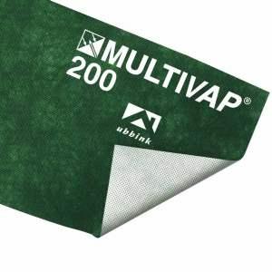 Ecran d'étanchéité de sous-toiture - 135 g / m² - Marque Ubbink - Modèle Multivap 200