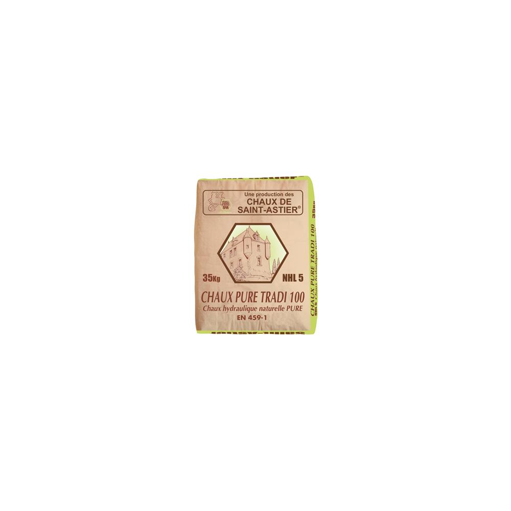 chaux hydraulique nhl 5 mod le pure tradi 100 marque chaux enduits saint astier. Black Bedroom Furniture Sets. Home Design Ideas