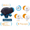 Kit vmc simple flux hygror glable 3 bouches d - Vmc hygroreglable basse consommation ...