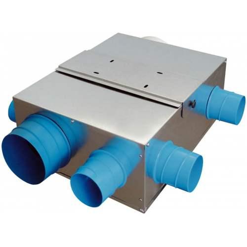 caisson vmc simple flux basse consommation 5 piquages d extraction mod 232 le hygrocosy mini