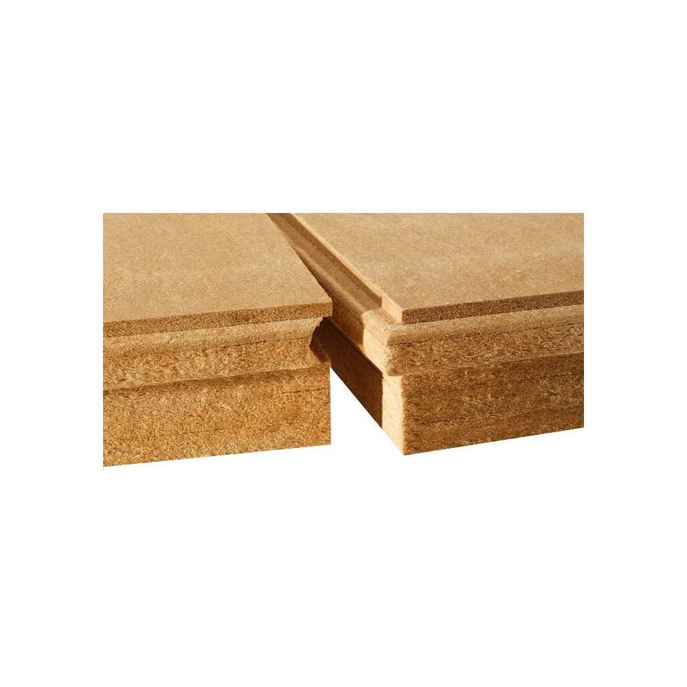 Panneau rigide de fibre de bois pour isolation par l 39 ext rieur avec panneau contre les - Panneau fibre de bois rigide ...
