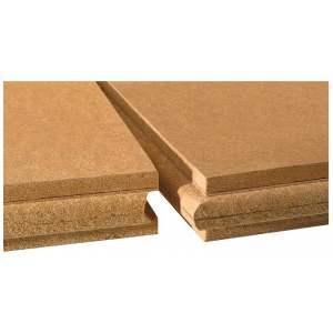 Panneau rigide de fibre de bois pour isolation par l'extérieur et l'intérieur  - Modèle Pavatherm-combi - Marque Pavatex
