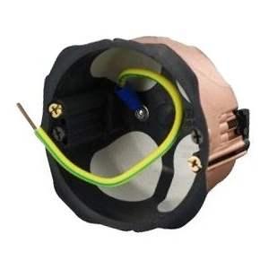 Boîte électrique simple d'encastrement faradisée - 32 A - Ø 86 mm - Courant - 84000341