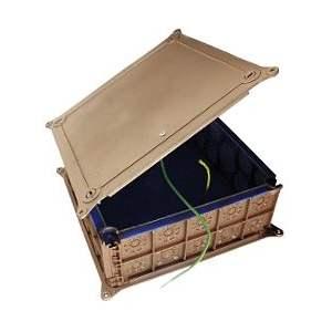 Boîte électrique de dérivation pavillonnaire faradisée - Étanche - Marque Courant - Réf. 84000401