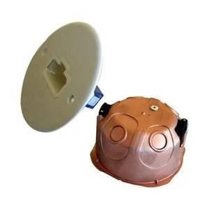 Boîte électrique applique DCL d'encastrement faradisée - Étanche - Marque Courant.