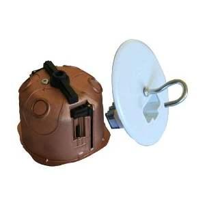 Boîte électrique point de centre DCL d'encastrement  faradisée - Étanche - Marque Courant - Réf. 84000311