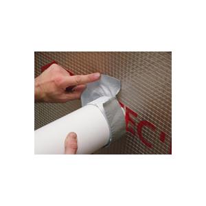 Bande butyl élastique d'étanchéité à l'eau et à l'air  pour pénétrations et ouvertures - 100 mm * 10 m -  Marque Ubbink