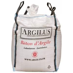 Béton d'argile - Sac de 35 kg -  Marque Argilus.