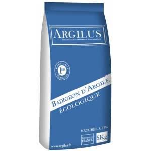 Badigeon d'argile - Intérieur - Sac de 5 kg - Marque Argilus.
