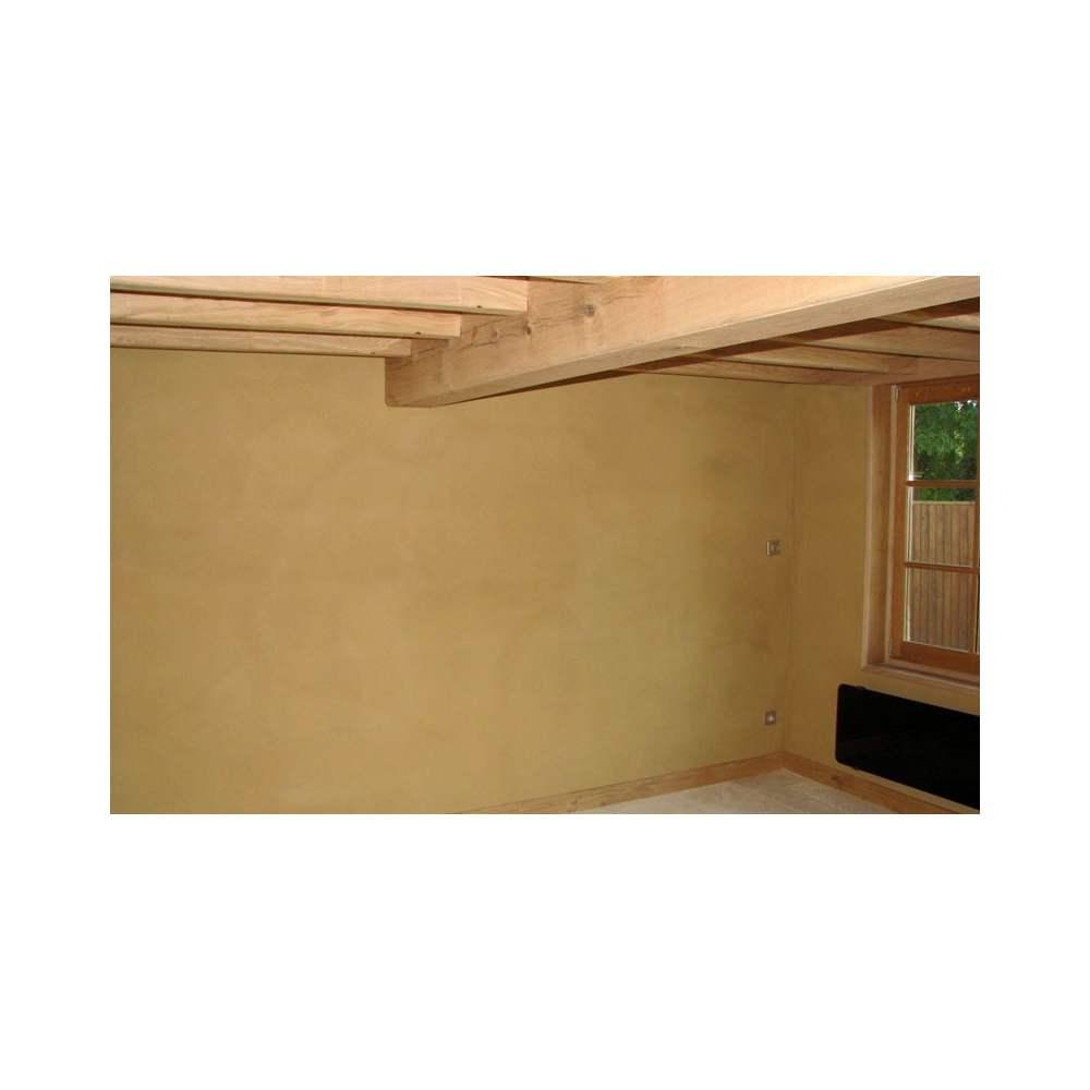 Enduit d 39 argile monocouche int rieur sac de 25 kg ou for Enduit mur parpaing interieur