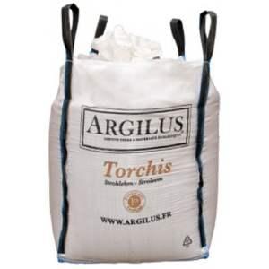 Exemple de torchis de remplissage à l'argile - Marque Argilus.