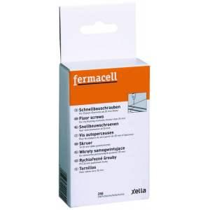 Vis autoperceuses pour plaque Fermacell (fibre & gypse) pour sol - Marque Fermacell - Boîte de 1000 vis.