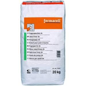 Enduit pour joint de plaque Fermacell (fibre-gypse) à bords amincis - 4 heures - Marque Fermacell.