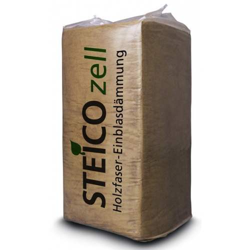 Fibre de bois en vrac - Modèle Steico Zell - Marque Steico (Sac de 15 ou 20 kg)