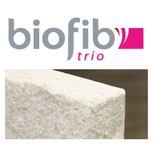 BOIFIB'TRIO : Paquet de panneaux semi-rigides en chanvre, coton et lin - Marque Biofib Isolation.