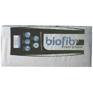 BIOFIB'OUATE : Panneaux semi-rigides en ouate et chanvre - Isolation thermique et acoustique - Marque Biofib Isolation.