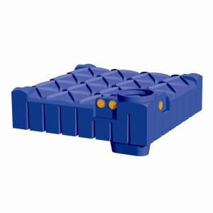 Pack récupérateur d'eau de pluie - Pour maison et jardin - Pack Confort - Cuve F-Line - Marque Rewatec.