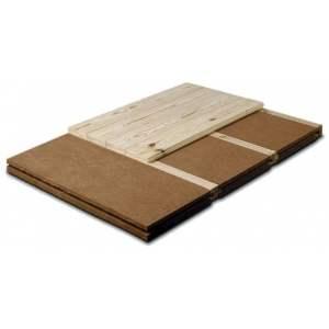 Lambourde - Pour panneaux rigides pour plancher Steico Floor - Marque Steico.