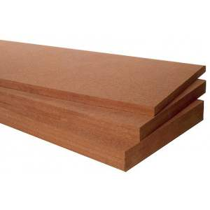 Steico Therm : Panneau rigide de fibre de bois - Isolation extérieure & intérieure - Chants droits - Marque Steico