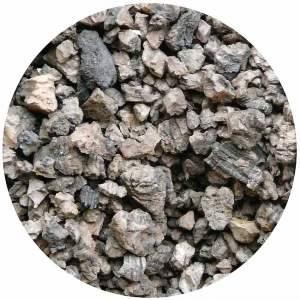 Granulés de liège expansé pur - Isolant thermique et acoustique - Marque Isocor.