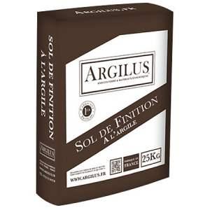 Réalisation de sol de finition à l'argile - Marque Argilus.