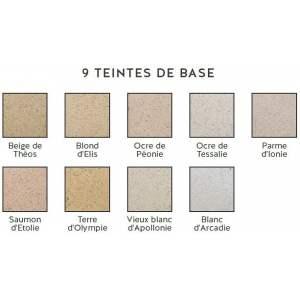 Enduit de finition à base d'argile et de chaux - Murs anciens - Extérieurs et intérieurs - Modèle Baticlay - Marque Argilus