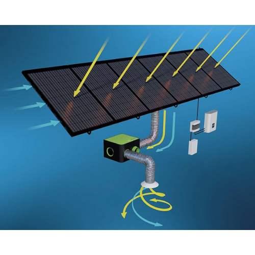 R-VOLT : Système de panneaux solaires aérovoltaïques - Marque : Systovi.