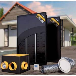 R-SUN : Système de panneaux solaires aérothermiques - Marque : Systovi.