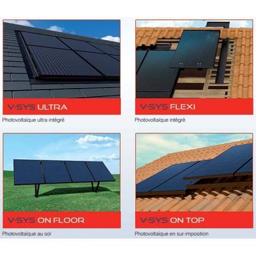 V-SYS : Panneaux solaires photovoltaïques à haut rendement - Marque : Systovi.