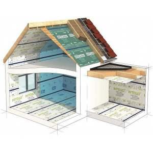pare vapeur et frein vapeur pour mur et rempants sous toiture elan co mat riaux cologiques. Black Bedroom Furniture Sets. Home Design Ideas