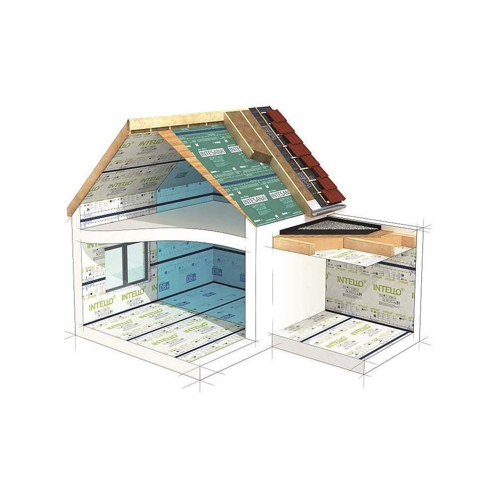 intesana frein vapeur hygror gulant pour isolation sur toiture sd variable de 0 25 plus de. Black Bedroom Furniture Sets. Home Design Ideas