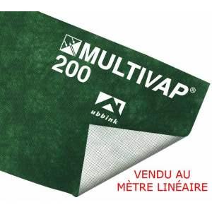 Schéma de pose de l'écran pare-pluie - Marque Ubbink - Modèle Multivap 200.