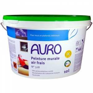 "Peinture ""Air frais"" - photocatalytique - intérieur - mur & plafond - blanche mate - Marque Auro - N° 344"