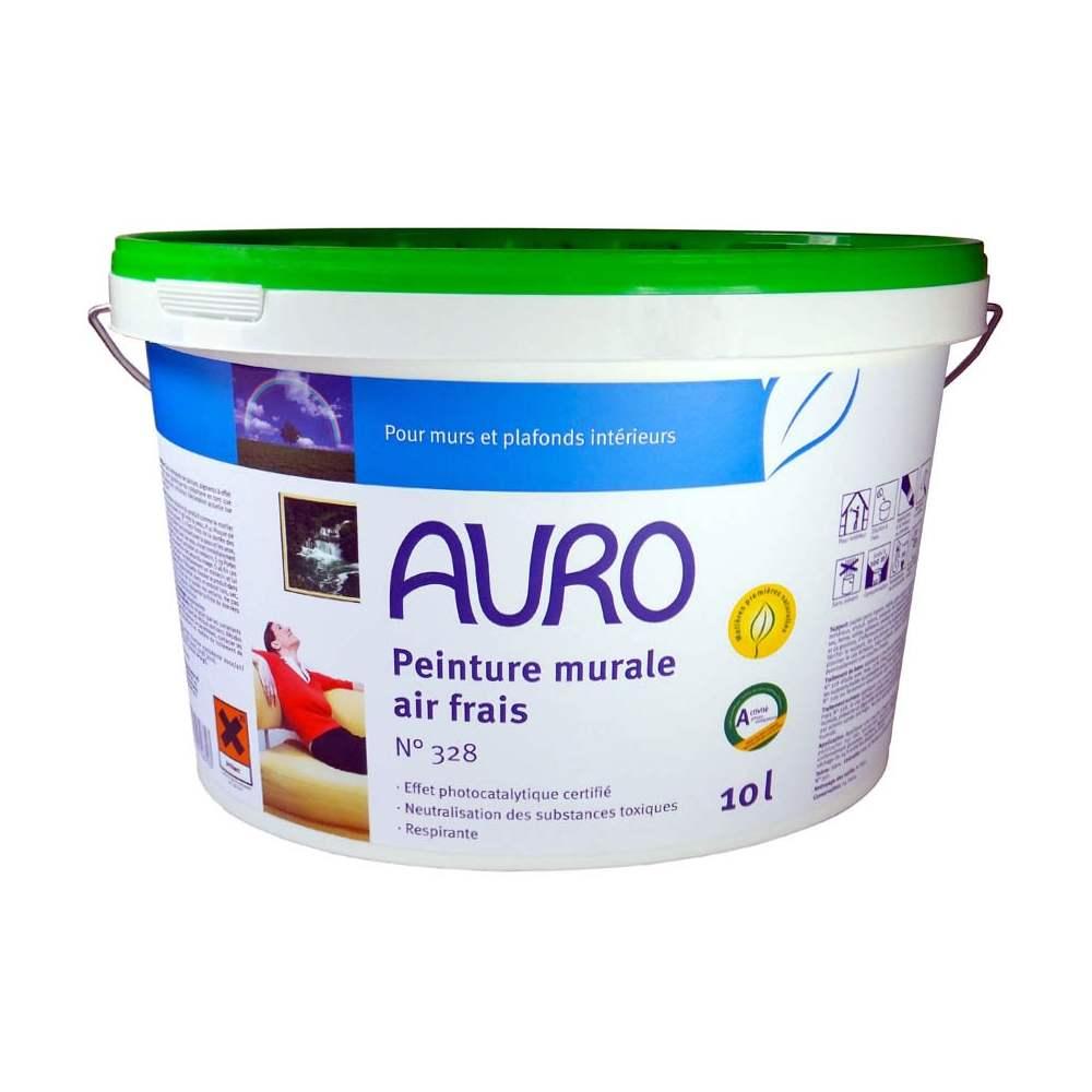Peinture action photcatalytique auro air frais n 328 - Peinture epaisse pour mur interieur ...