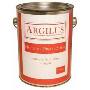Huile de protection pour sol : Marque Argilus.