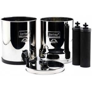 STAINLESS STEEL SPIGOT : Robinet en acier inoxydable 304 pour filtres BERKEY.